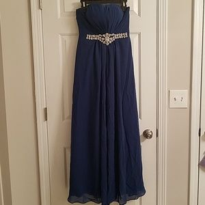 Dresses & Skirts - Blue Prom Formal Gown